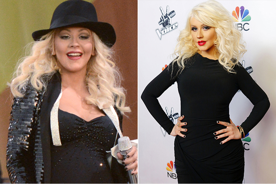 Christina Aguilera – La Chanteuse Interprète De Comme On Over A Perdu 18 Kilos