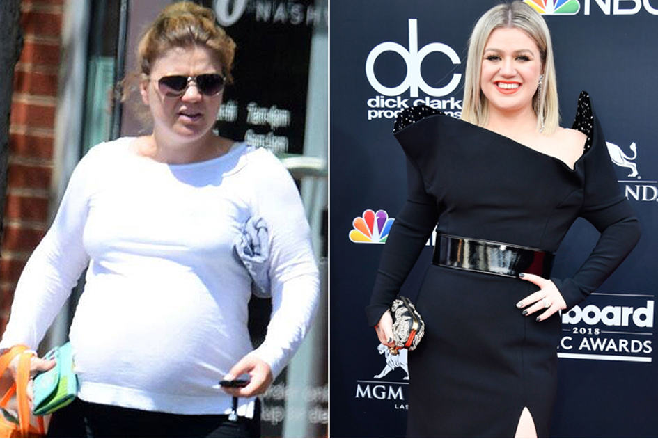 Kelly Clarkson – La Chanteuse, Interprète De Because Of You A Perdu 17 Kilos